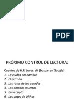 Cuentos Lovecraft - InFORME