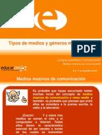 1-Tipos de Medios y Generos Mediaticos