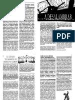 A-DESLAMBRAR  N° 01 - Contra Criminalización de protesta y Estado de excepción