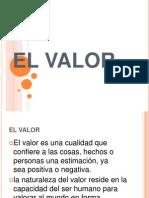 EL VALOR... Blanca Cano