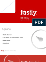 IDC Fastly - Sept 19 2014