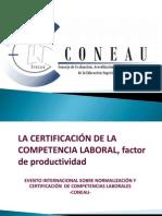 03. La Certificación de La Competencia Laboral, Facto