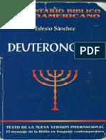 Sanchez Cetina Edesio - Deuterononio