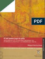 BPI 03 El Sol Babea Jugo de Pina Antologia Literaturas Indigenas Del Atlantico