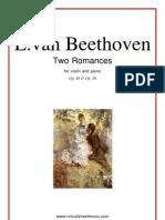 Beethoven Romances