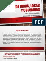 Diseño de Vigas, Losas y Columnas