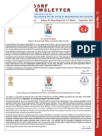 ISSRF - Newsletter - 15th Ed Sept 2014
