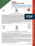ISSRF - Newsletter - 15th Ed Sept 2014