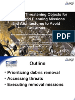 Identifying Threatening Objects for Removal and Planning Missions