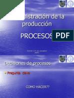 Ad Ministracion de La Producción