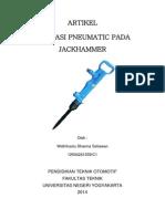 Aplikasi Pneumatic Pada Jackhummer