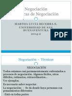 Negociación - Técnicas de Ngciación.  MLBecerra.pptx