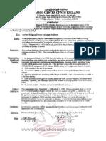 Masood Abousamra ICNE Agreement