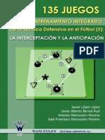 08. 135 JUEGOS PARA EL ENTRENAMIENTO de La Tecnica Defensiva en El Futbol (II)
