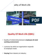 QWL - Quality work Life