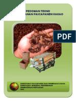 Pedoman Teknis Penanganan Pascapanen Kakao