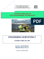 Sug 208-Enginering Surveying i