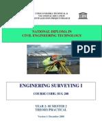 Sug 208-Enginering Surveying i
