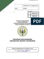 Form Pendaftaran 2014