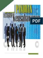 Buku Panduan EMK - Keusahawanan Bhg 1