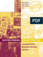(Social Movements, Protest, And Contention 14) Sanjeev Khagram, James v. Riker, Kathryn Sikkink-Restructuring World Politics_ Transnational Social Movements, Networks, And Norms-University of Minnesot