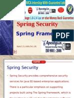 Winter internship in Spring Security at Apextgi.