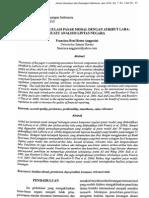 Hubungan Regulasi Pasar Modal Dengan Atribut Laba Suatu Analisis Lintas Negara
