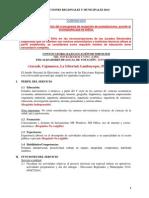 Convocatoria Bajo Locación de Servicios Flv - Erm 2014_zona Norte-Ampliacion