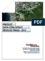 Pricelist Data Citra Satelit Resolusi Tinggi - Map Vision