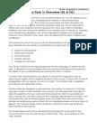 written task 1 overview