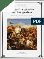 Origen y Gestas de los Godos - Jordanes.pdf