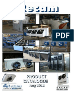 Refrigeration RECAM Catalogue 2012