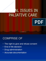 Legal Issues in Paliative Care
