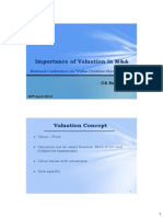 Valuation-methods and Parameters