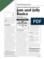 Jam making guide
