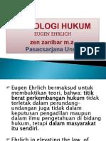 Sosiologi Hukum Ugen Ehrlich