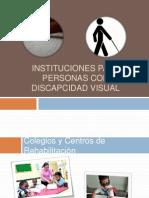 Instituciones Para Personas Con Discapcidad Visual -Centros Final