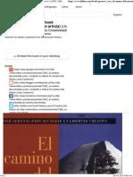 Leer online_ El Camino Del Artista (Julia Cameron) [ESTE LIBRO NO ESTÁ DISPONIBLE PARA DESCARGAR EN PDF] _ Kilibro.pdf