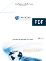 Mobile Application Development Company from Hyderabad, India Creative Technosoft Systems
