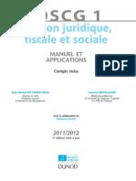 DSCG 1 Gestion Juridique Fiscale Et Sociale