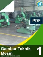 Gambar Teknik Mesin Kelas Xii Semester 1