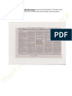 Elimination of Federal Guilty Plea Waivers as Posted in the September 27, 2014 Edition of WSJ1a
