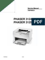 Xerox Phaser 3124_3125 - service manual