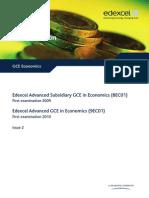 Spec Gce Economics