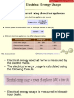 The Cost of Electric Energy