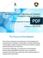 Era of Big Data and Predictive Analytics in Higher Education