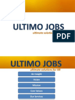 Ultimo Jobs Profile