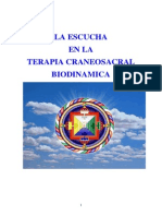 La Escucha en La Terapia Craneosacral Biodinamica