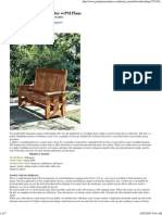 Bench - Build a Classic Porch Glider - PopMec