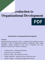 Introduction to Organizational Development